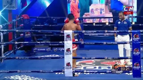 Kun Khmer ឌុម កែវដា Vs ភិតដាំ Dum Keo Da Vs Phetdam (Thai) CTN boxing 27 Jan 2019  Fights Zone
