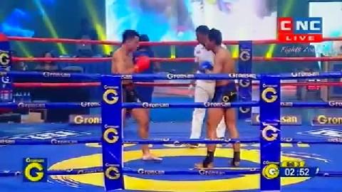 Kun Khmer ទេស ជីវ៉ា Vs ផេងសិង្ហា (ថៃ) Tes Chiva Vs Phetsingha (Thai) CNC boxing 25 Jan 2019