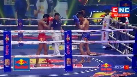 Kun Khmerសួន ចាន់នី Vs ម៉ៃសុត (ថៃ) Soun Channy Vs Maisot (Thai) CNC boxing 26 Jan 2019