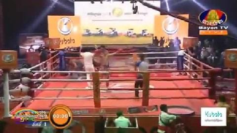 វគ្គផ្តាច់ព្រ័ត្តដណ្តើមខ្សែក្រវាត់ Bun Sothea vs Khem Chan Bayon Kun Khmer 04012019
