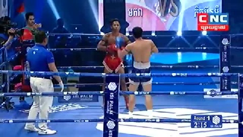 Kun Khmer តាញ់ មករា Vs ថៃ Tanh Makara Vs Phitboonee (Thai) CNC boxing 23 Dec 2018  Fights Zone