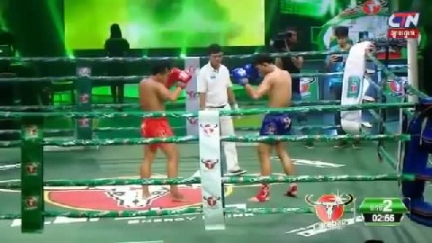 Roeung Sophorn vs Bu Ngoeun Thai 12 Jan 2019 CTN Khmer boxing today Kun Khmer fighter