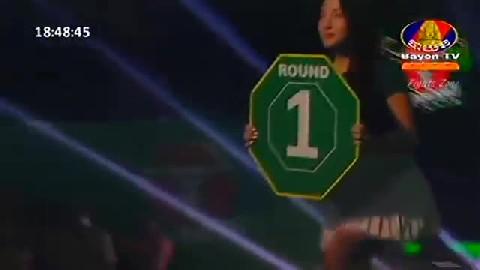Kun Khmerចាន់ ប៊ុនហឿន Vs ហ្វានីមីត (ថៃ) Chan Bunhoeun Vs Farnimith (Thai) Bayon boxing 2712019