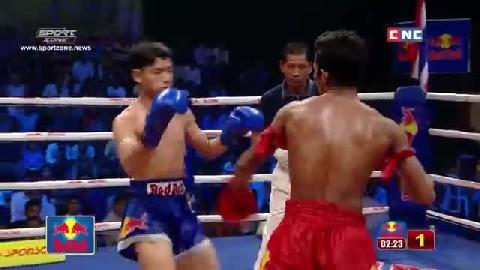 ធន់ អៀងឡៃ vs ភេតអារិន (ឡាវ) Thun Englai vs Phetarun (Laos) CNC Boxing 13 October 2018