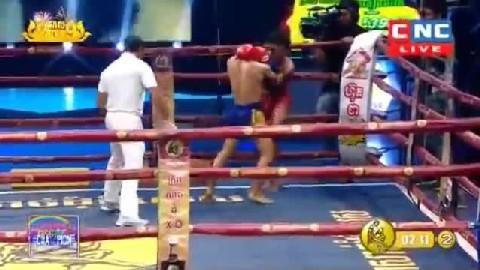 វាយញ៉ាក់សាច់ ធន់ អៀងឡៃ Thun Eanglay vs Banphat(Thai) CNC Kun Khmer 23122018