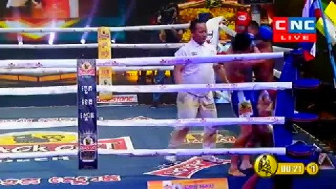 Kun Khmer មុត ខ្លឹមខ្មៅ Vs ក្វាង ស៊ីតវាំងលួង (ចិន)  Muth Khlem Khmao Vs Kwang (Thai) 0322019