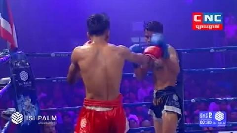 Kun Khmerសុខ សាវិន Vs វិធិយាយុត (ថៃ)Sok Savin Vs Vitiyayuth (Thai) CNC boxing 0322019