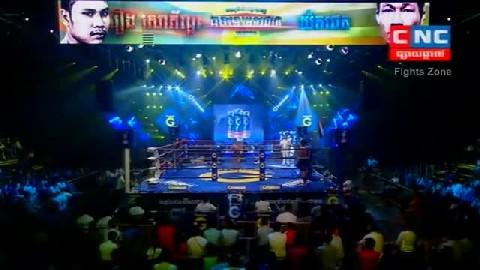 Kun Khmerរឿង សោភ័ណ្ឌ Vs យ៉តផេត (ថៃ) Roeung Sophorn Vs Yodphetch (Thai) CNC boxing 0122019