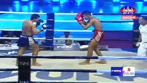 Kun Khmerលន បញ្ញាVs ស៊ុបពើមេន (ថៃ)Lorn Panha Vs Superman (Thai) SEATV boxing 0322019