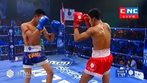 Kun Khmer ឡុង ជិន Vs ថៃ Long Chin (Cambodia) Vs Phoutakwan (Thai) 21 Oct 2018  Fights Zone