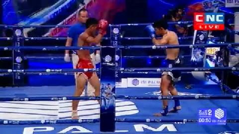 Kun Khmer សេក គឹមសាន្ត Vs ផ្យាក់អារុន (ថៃ) Sek Kimsan Vs Payakaroon (Thai) CNC boxing 1022019