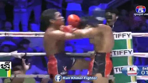 សន្លប់ទឹកទី ១ស្អាត, Thun Eanglai vs Bird Sangkhem, TV5 Kun Khmer 09_02_2019 - YouTube