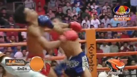 ចប់ទឹកទី ១មិនទាន់ផងសន្លប់បាត់, Elit Sovannai vs Rith Sipich, Bayon Kun Khmer 07_09_2018 - YouTube