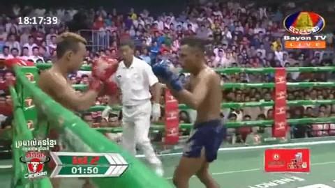 Ouch Thearith vs Nim Norn, Bayon Kun Khmer 26_08_2018 - YouTube