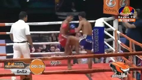 Chan Kimlun vs Heng Sopheak, Bayon Kun Khmer 24_08_2018 - YouTube