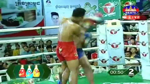 Tes Somkhan vs Vong Vichhai, Seatv Kun Khmer 25_08_2018 - YouTube
