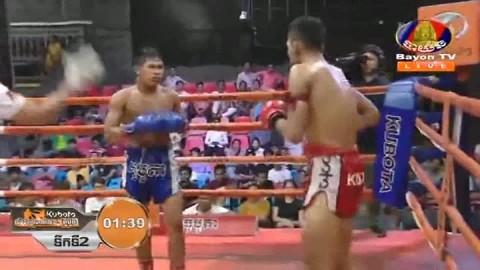 Thorn Veasna vs Houn Soknim, Bayon Kun Khmer 24_08_2018 - YouTube