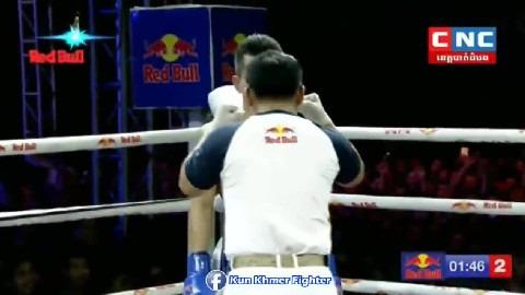ខ្សែក្រវាត់ ៨ ប៉ះខ្សែក្រវាត់ ៩ Roeung Sophorn vs Singmanee(thai) CNC Kun Khmer BTB 2302៊២០១៩