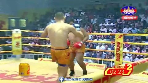 អ៊ុង វីរៈ មកវិញហើយ Ung Vireak vs Jancarlos(Brazil) Seatv Kun Khmer 24022019