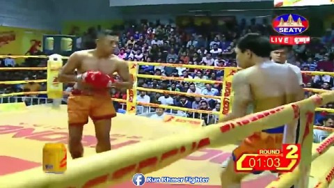 Ny Sophy vs Manavthorng(thai) Seatv Kun Khmer 24022019