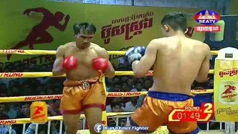 ឌីម៉ា ផ្តួលថៃសន្លប់ទៀតហើយ Khim Dima vs Srisoreach(thai) Seatv Kun Khmer 24022019