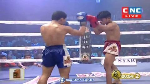 មួយដៃពេញសន្លប់បាត់ Elit San vs Hernfa(thai) CNC Kun Khmer 03032019