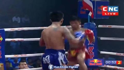 គឹមរួន ប្តូរមកនៅក្លិបជាមួយ រឿង សោភ័ណ្ឌ Sek Kimroun vs Phitsingha(thai) CNC Kun Khmer 09032019