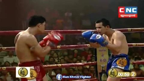 ឈាមទាំងសងខាងតែម្តងគូនេះ Chhai Sara vs Palangnum(thai) CNC Kun Khmer 10032019