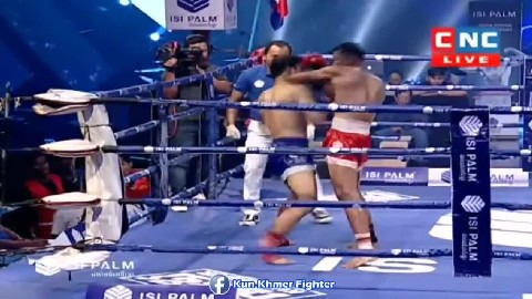 បកកែងខុសបច្ចេកទេសសន្លប់ខ្លួនឯង Ny Sophy vs Buangern(thai) CNC Kun Khmer 10032019