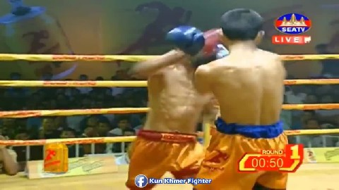 ម៉ឺន មេឃា ថ្ងៃនេះធ្វើបានល្អ Meun Mekhea vs Chensuek(thai) Seatv Kun Khmer 10March2019