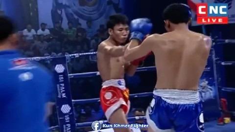 សន្លប់លឿនម្លេះលោកព្រះ Sok Savin vs Prab(thai) CNC Kun Khmer 10032019