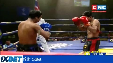 មាឌល្អិតចិត្តធំប៉ះគូសងសឹក Him Serey vs Rongvithya(thai) CNC Kun Khmer 29032019
