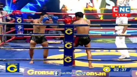 Pop Ice អន់ចង់របស់ ឡុង ជិន Long Chin vs Popice(thai) CNC Kun Khmer 29032019
