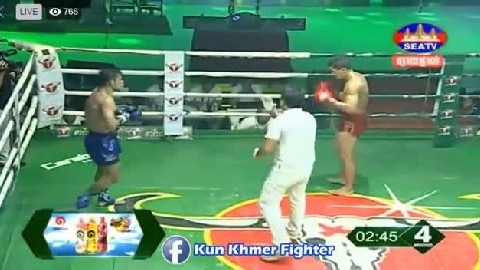 Chhai Sara vs Sungyuth(thai) Seatv Kun Khmer 30032019
