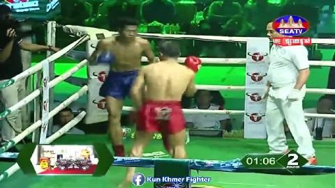 ម្ចាស់ខ្សែក្រវាត់ខារ៉ាបាវរកឃើញហើយ Van Voeun vs Leap Rotha Seatv Kun Khmer 30032019