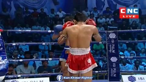ភ្លាតដៃជាប់សង្វៀនបាត់ Bun Sothea vs Phitpetsen(thai) CNC Kun Khmer 31032019