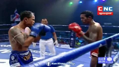 សួន ចាន់នី ប៉ះថៃជុំចុងក្រោយ Soun Channy vs Vithak Yatuth(thai) CNC Kun Khmer 31032019