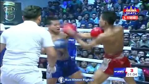 វគ្គផ្តាច់ព្រ័ត្រខ្សែក្រវាត់វើក Lorn Panha vs Superman(thai) Seatv Kun Khmer 31032019