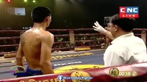 ទាត់គ្មានប្រណីស៊ូម៉េចបាន Tanh Makara vs Phetngam(thai) CNC Kun Khmer 31032019