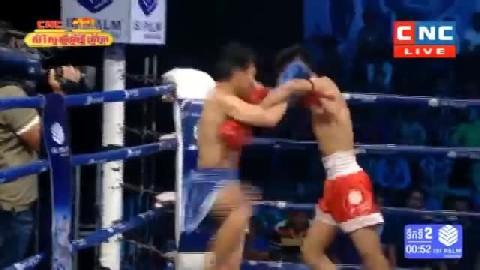 ហ៊ឺម គឹមរៀង Vs យ៉តម៉ែនឆាន់ (ថៃ) - Him Kimreang Cambodia Vs Thai Yod Manchhan