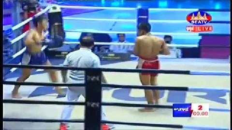 អេលីត សាន់ Vs យ៉តថាណុង (ថៃ) - Ehlit San Cambodia Vs Thai Yorth Thanong