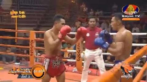 វៀត ប៊ុនឌឿន Vs រិទ្ធអៃរ៉ា ថៃ - Viet Bundoeun Cambodia Vs Thai Rithaira