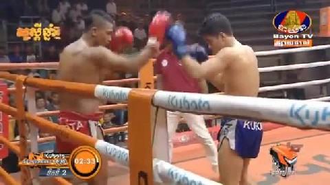ម៉ឺន សុភា Vs ផុងសារិ ថៃ - Meun Sophea Cambodia Vs Thai Pongsari