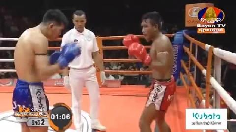 រិទ្ធ ភូលូ ជាមួយ ហ្វានីមីត ថៃ - Rith Phulu Cambodia Vs Thai  Fahnimit
