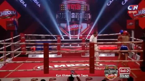 ឡូញ វណ្ណឌី Vs ណាក់រុប Lounh Vanndy Cambodia Vs Thai 22062019 Kun Khmer International Boxing