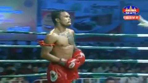 ចាន់ សំអាត ជាមួយ ខាន់ ថេប-  Chan Samart Cambodia Vs Khan Theb Thai