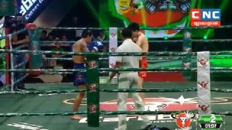 យ៉េន ឌីណា ជាមួយ  ភិតសាយហ្វា - Yen Dina Cambodia Vs Phit Say Fa Thai
