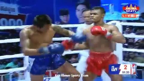 យ៉ុន ដារ័ត្ន ជាមួយ យតបានផុត - Yun Daroth Cambodia Vs Yot Banphot Thai
