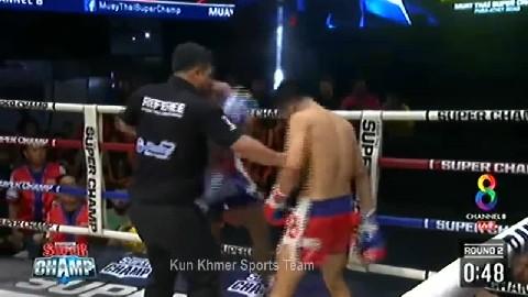 ពុយ វណ្ណៈ ជាមួយ ម៉ាហាឆៃ - Puy Vannak Cambodia Vs Ma HaChhai Thai