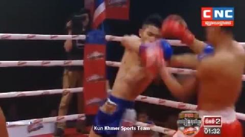 ម៉ឺន មេឃា ជាមួយ យ៉តនិយម - Meun Mekhea Cambodia Vs Thai Yorthniyom